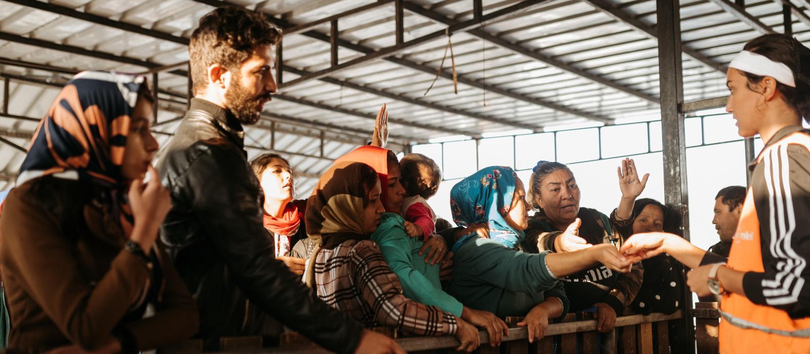 Voluntariado refugiados